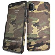 Cover Slim Rigida per iPhone X | Camo