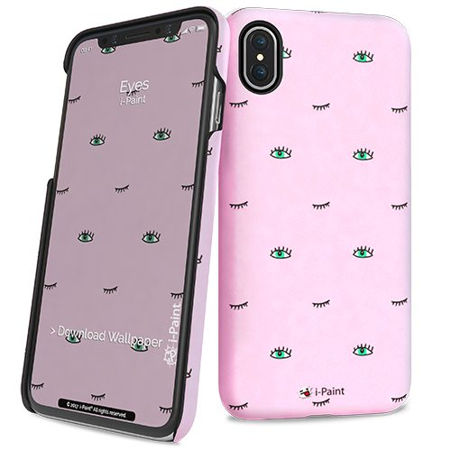 Cover Slim Rigida per iPhone X | Eyes