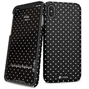 Cover Slim Rigida per iPhone X | Pois