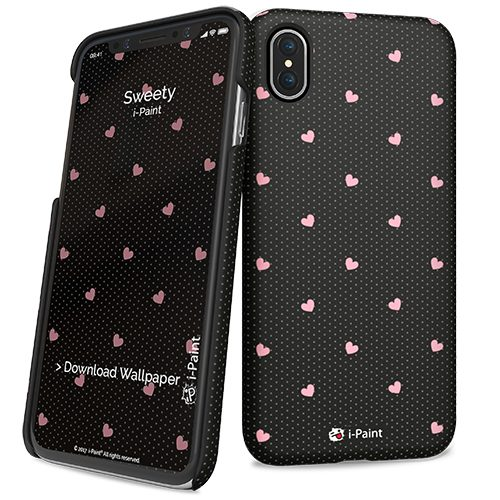 Cover Slim Rigida per iPhone X | Sweety