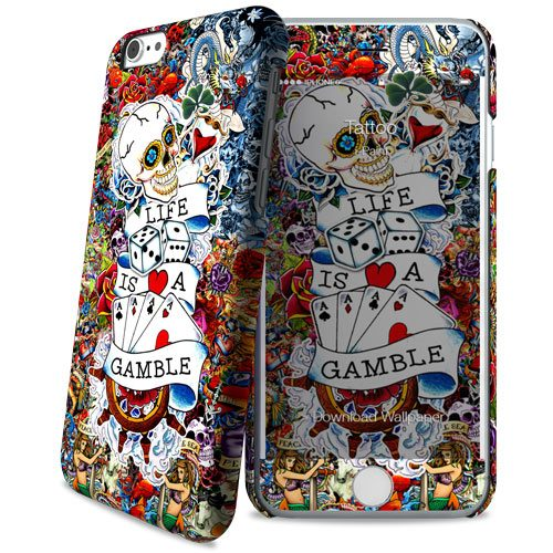 Cover Slim Rigida per iPhone 6/6S | Tattoo