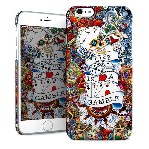 Cover Slim Rigida per iPhone 6/6S Plus | Tattoo