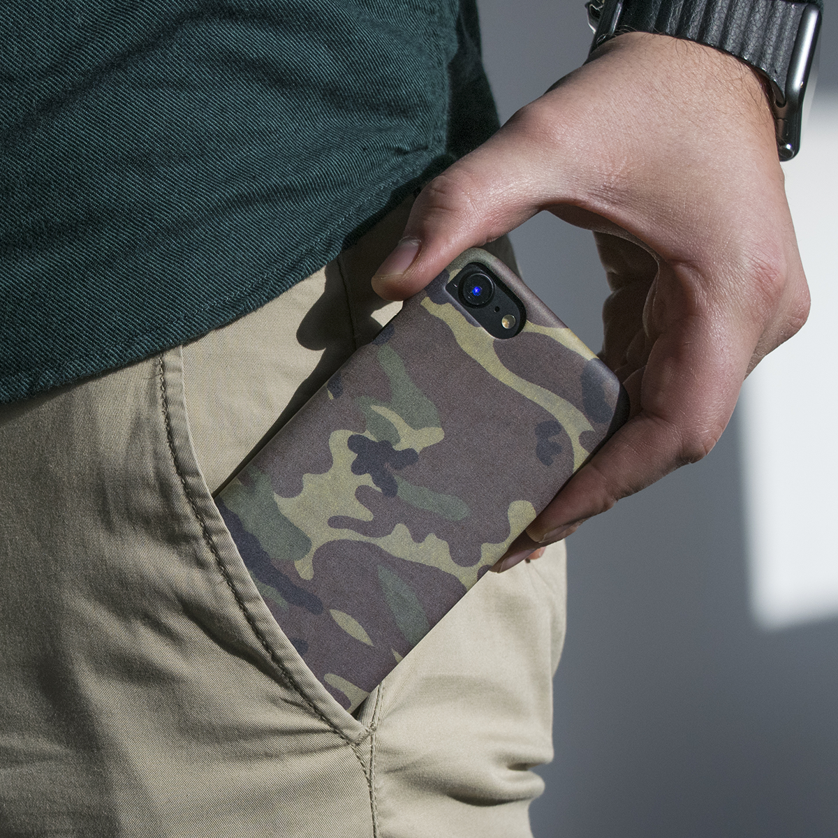 Cover Slim Rigida per iPhone | Camo