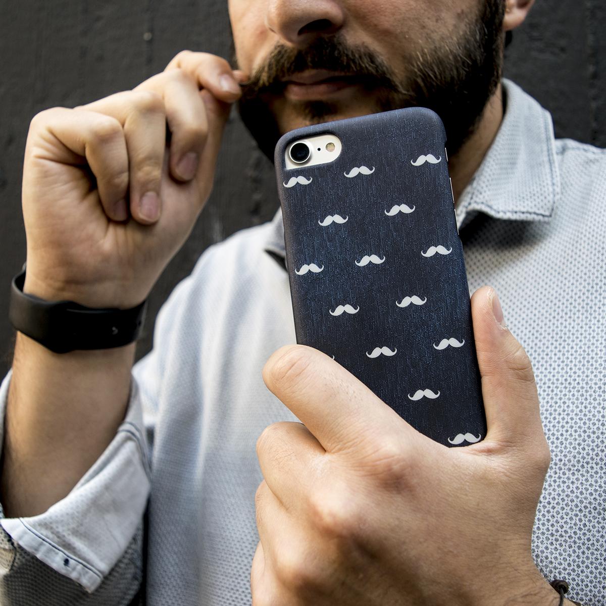 Cover Slim Rigida per iPhone | Mustaches