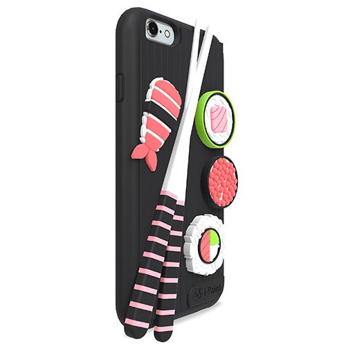 Cover 3D Morbida per iPhone   Sushi