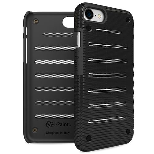 Cover in Metallo Leggero per iPhone 7 | Black