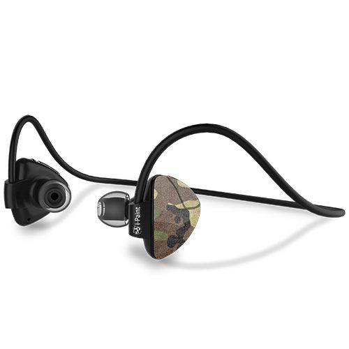 Sport Design Bluetooth Earphones | Camo