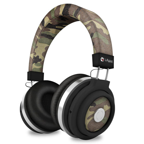 Urban Design Bluetooth Headphones | Camo