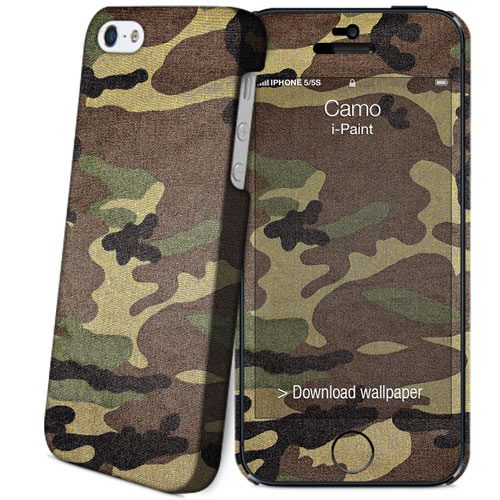 Cover Slim Rigida per iPhone SE/5S/5 | Camo