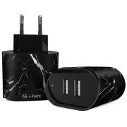 Fast & Smart Wall Charger | Marble