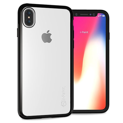 Cover Trasparente per iPhone X/XS | Black