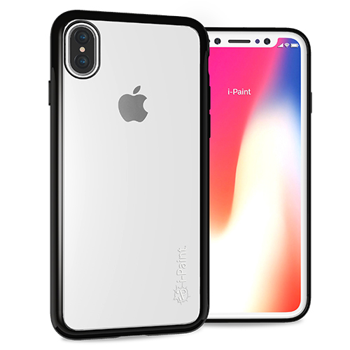 Cover Trasparente per iPhone X | Black