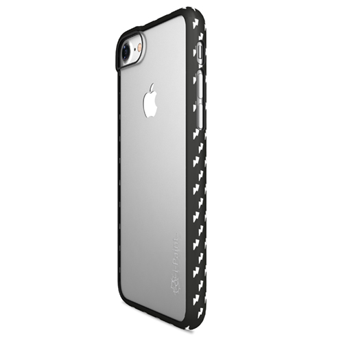 Cover Fashion Trasparente per iPhone | Flash