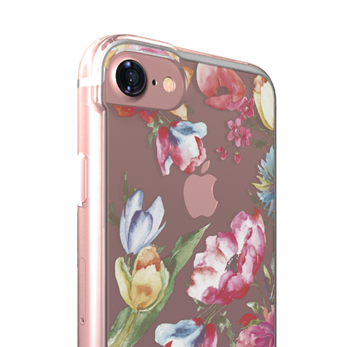Cover Glamour SemiTrasparente per iPhone | Flower