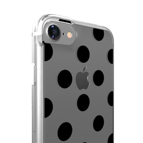Cover Glamour SemiTrasparente per iPhone | Pois