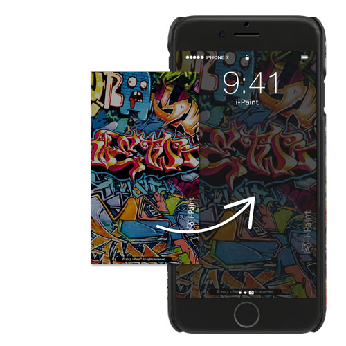 Cover Slim Rigida per iPhone | Graffiti
