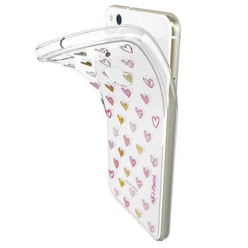 Cover Trendy SemiTrasparente per Huawei | Hearts