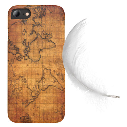 Cover Slim Rigida per iPhone | Map