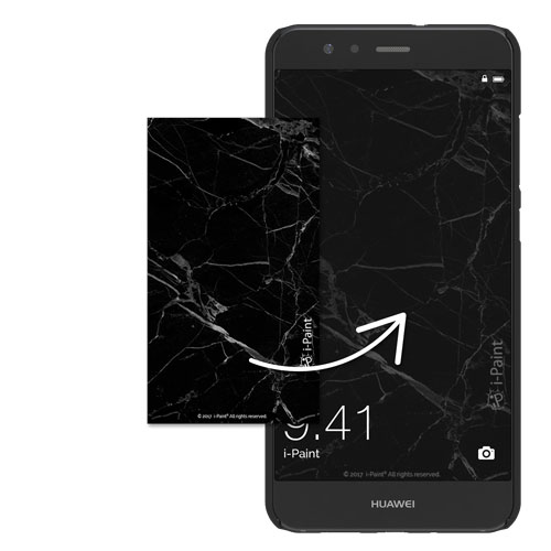 Cover Slim Rigida per Huawei | Marble