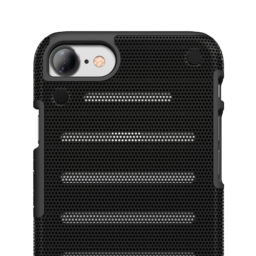 Cover in Metallo Leggero per iPhone | Black