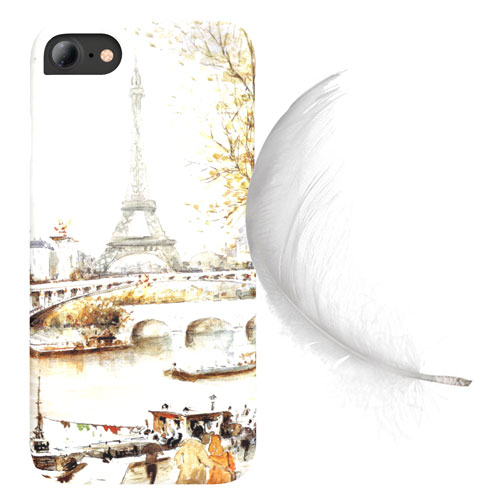 Cover Slim Rigida per iPhone | Paris