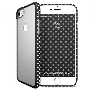 Transparent Fashion Case for iPhone | Pois