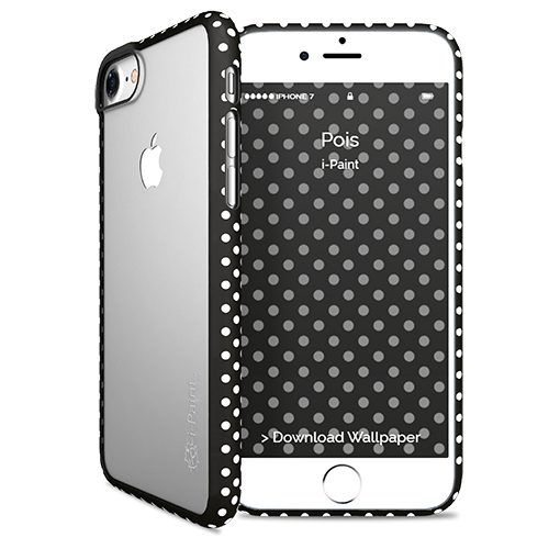Cover Fashion Trasparente per iPhone 7/8 | Pois