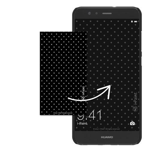 Cover Slim Rigida per Huawei | Pois