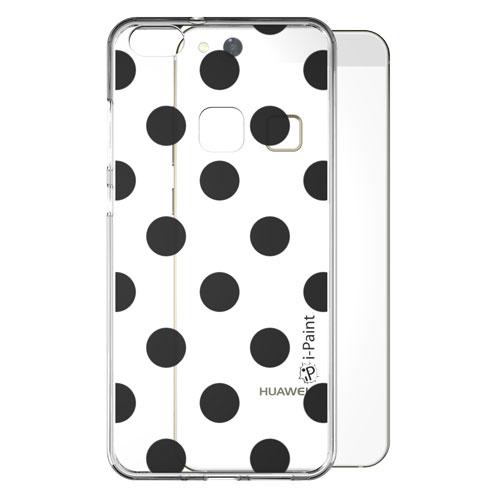 Cover Trendy SemiTrasparente per Huawei | Pois