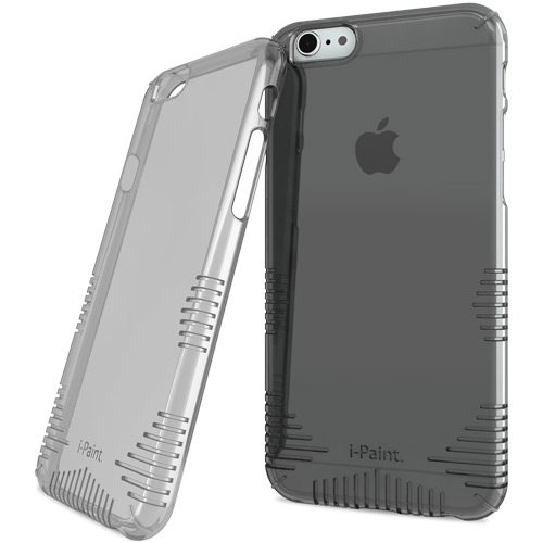 Cover Grip Trasparente per iPhone 6/6S Plus | Smoke