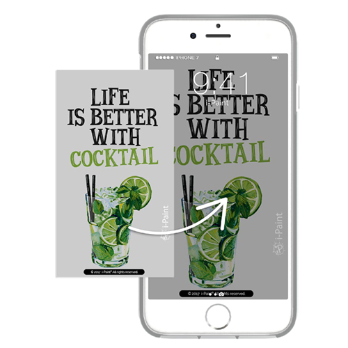 Cover Avvolgente Morbida per iPhone   Cocktail