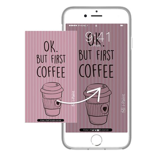 Cover Avvolgente Morbida per iPhone   Coffee Mug