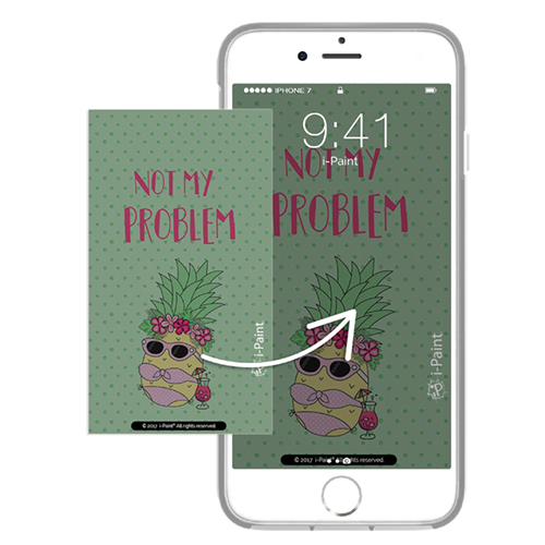 Cover Avvolgente Morbida per iPhone | Pineapple