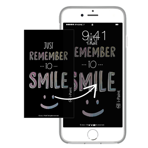 Cover Avvolgente Morbida per iPhone | Smile