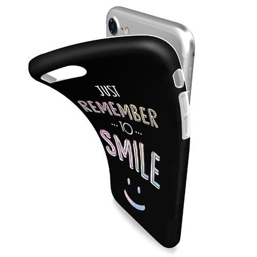 Cover Avvolgente Morbida per iPhone | Smile