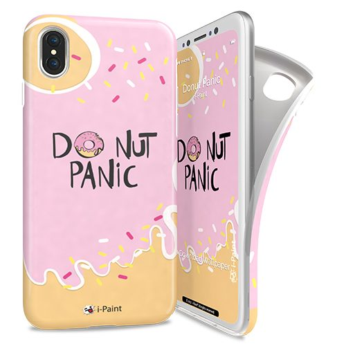 Cover Avvolgente Morbida per iPhone | Donut
