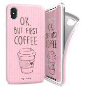 Cover Avvolgente Morbida per iPhone X | Coffee Mug