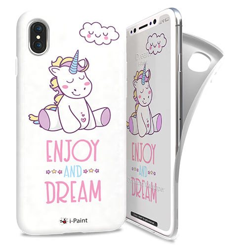Cover Avvolgente Morbida per iPhone X | Dream