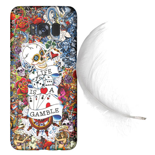Cover Slim Rigida per Samsung Galaxy | Tattoo