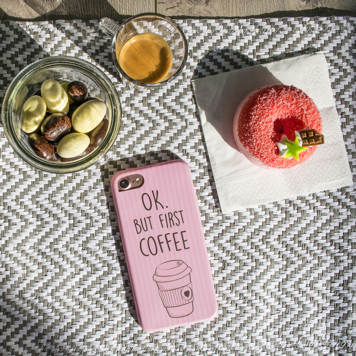 Cover Avvolgente Morbida per iPhone | Coffee Mug