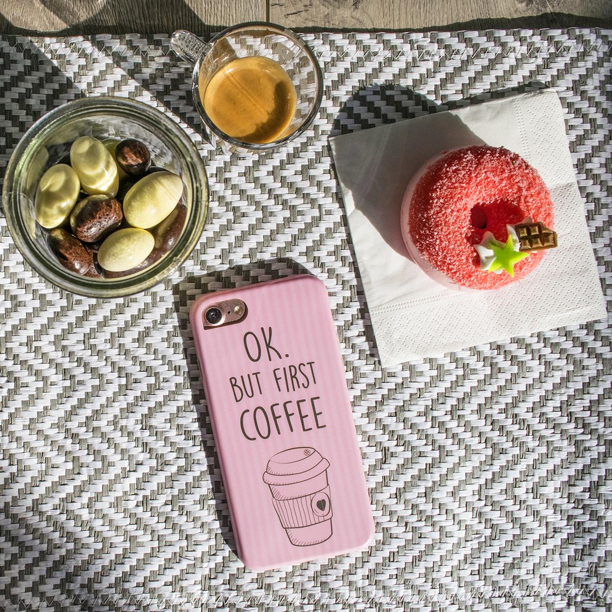 Cover Avvolgente Morbida per iPhone | Coffee Mug