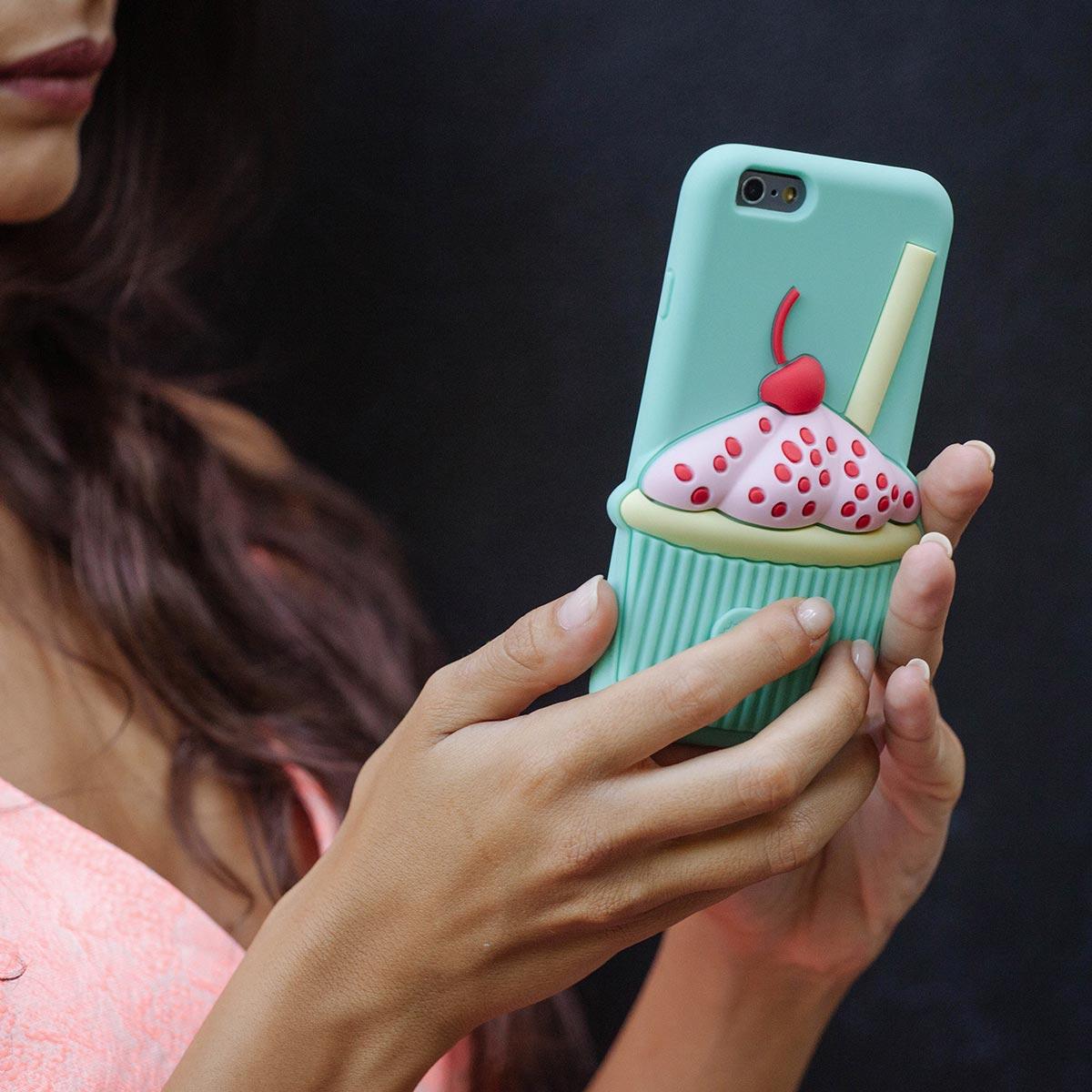 Cover 3D Morbida per iPhone | Cup Case
