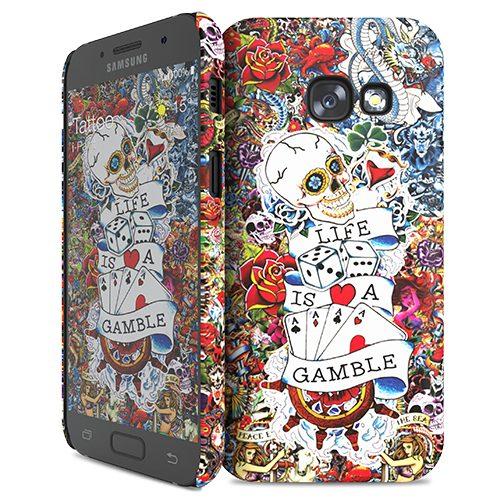 Cover Slim Rigida per Samsung Galaxy A3 2017 | Tattoo