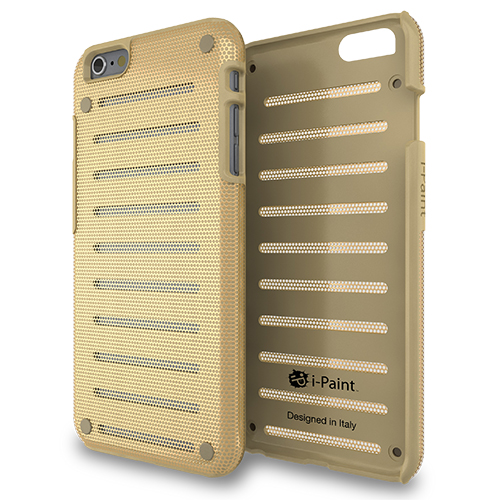Cover in Metallo Leggero per iPhone 6/6S Plus | Gold