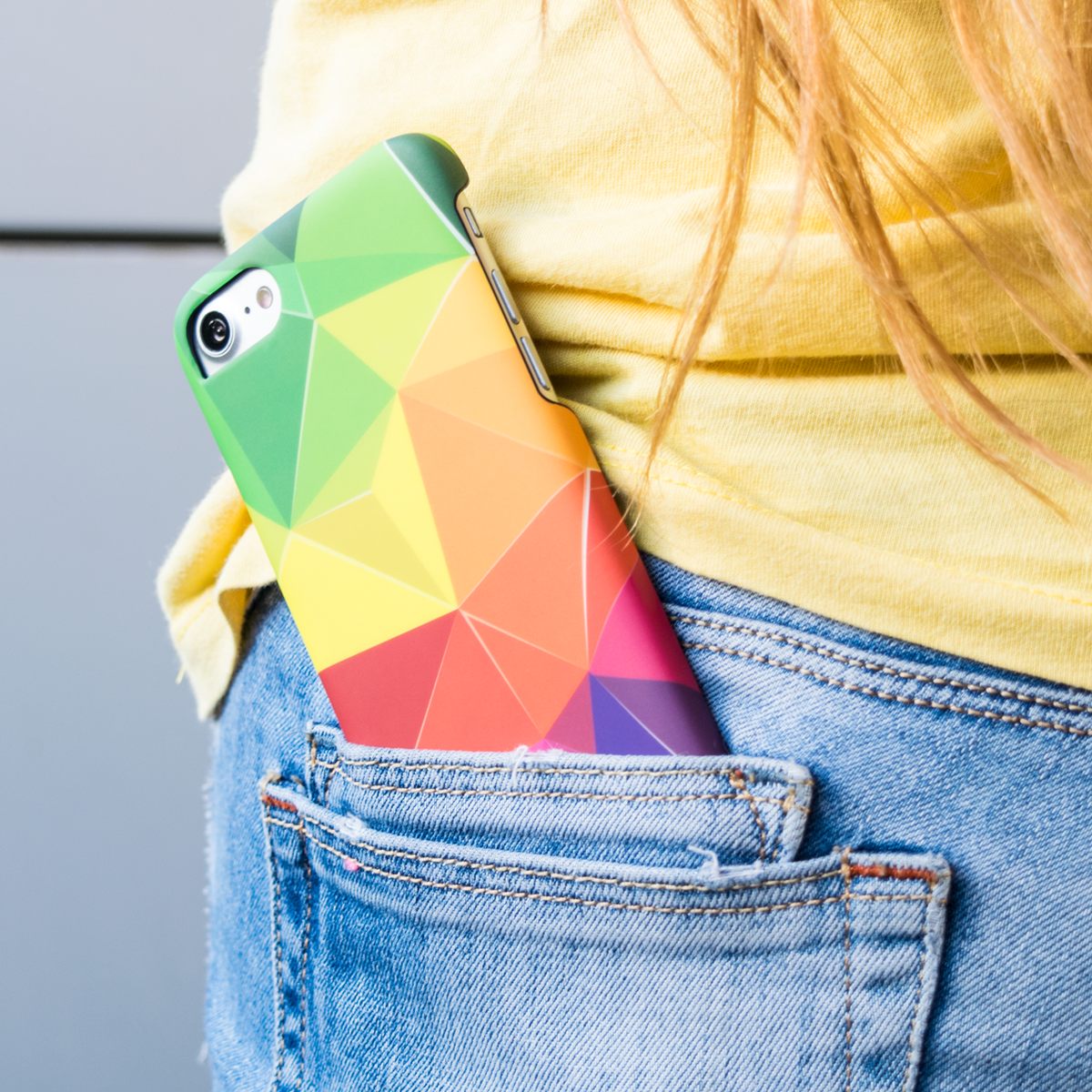 Cover Slim Rigida per iPhone | Rainbow