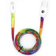 Charge&Sync Lightning® Cable for Apple | Rainbow