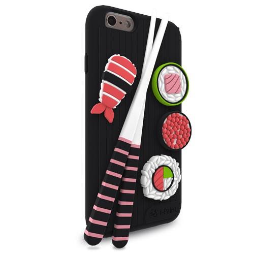 Cover 3D Morbida per iPhone 6/6S | Sushi