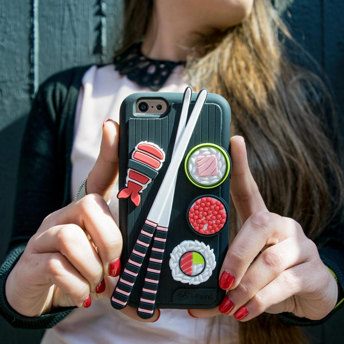 Cover 3D Morbida per iPhone | Sushi