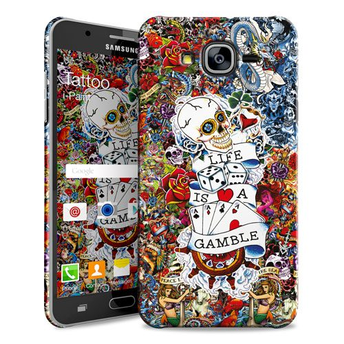 Cover Slim Rigida per Samsung Galaxy J5 | Tattoo
