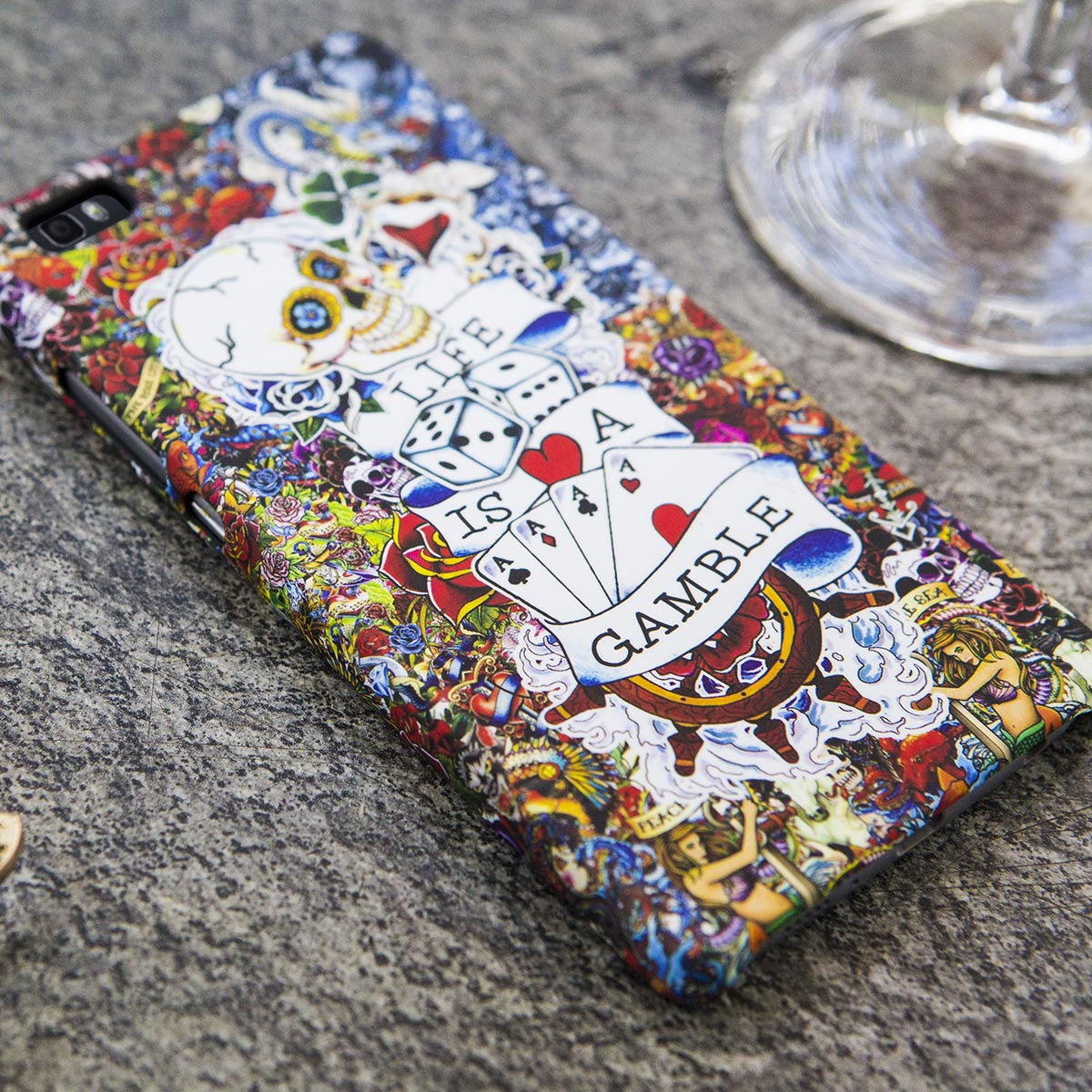 Cover Slim Rigida per Huawei | Tattoo